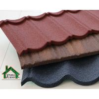 Buy cheap Alu-Zn steel plate color nature stone coated roofing tiles 1340x420 size hot sale tile from wholesalers