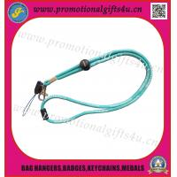 Buy cheap Chord Woven lanyard with phone loop and metal hook from wholesalers