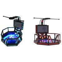 Buy cheap Indoor Electronic 9D Virtual Reality Game Simulator For Shopping Mall product