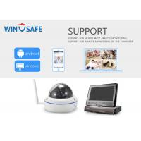 Buy cheap All In One Wireless NVR Kit High Resolution 1.0MP Cordless Security Camera System from wholesalers