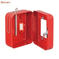 Buy cheap 3 Key Tag Promotional Combination Key Box Key Cabinet With Glass Window Door from wholesalers