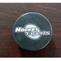 Buy cheap Official Black Rubber Hockey Puck, Customized Size, Logo Printed Available from wholesalers