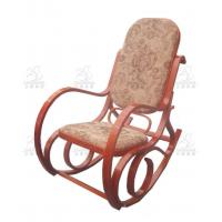 China Upholstered Soft Bentwood Rocking Chair Cushions , Birch And ...