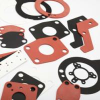 Buy cheap Large factory custom design thin round plat silicone rubber gasket/colorful rubber gaskets product