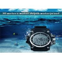 China Sport Health LED Smart Watch 1.1 Inch LCD Display Remote Control Camera TPU Watch Band on sale