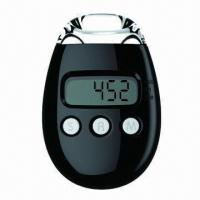 Buy cheap Luxury Pedometer with Tough Belt Clip from wholesalers