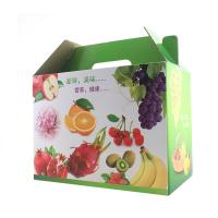 Buy cheap Flat Pack Corrugated Packaging Box Fruits Gift Fashionable For Fruits Vegetable Delivery from wholesalers