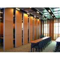 Buy cheap Acoustic Sliding Folding Partition Walls , Anti Noise And Fire Resistant Wall Panels from wholesalers