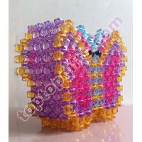 Buy cheap 3d butterfly penholder acrylic pens container product