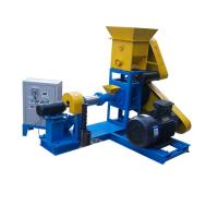 Buy cheap hanson feed pellet extruder,fish feed making machine,pet dog cat food processing machine for sale from wholesalers