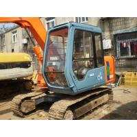 Buy cheap used hitachi 60 excavator second hand ex60-3 mini digger  for sale in Shanghai from wholesalers