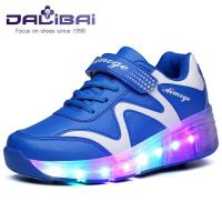 China Customized LED Light Up Children Shoes , led shoes for girls with 7 Colors on sale