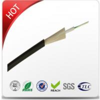 Buy cheap 2 - 24 Core Outdoor Fiber Optic Cable PE Outer Sheath Material Easy Installation from wholesalers