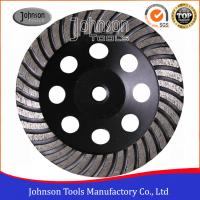 Buy cheap Turbo Concrete Grinding Wheel Stone / Hard Granite / Hard Brick Diamond Grinding Tools from wholesalers