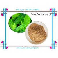 Buy cheap Brown Yellow Natural Vitamin Powder Natural Tea Polyphenols 99.9% for Health Products CAS 84650-60-2 from wholesalers