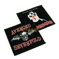 Buy cheap Washable Custom Woven Patches Sew On Logo Badges For Clothes 5x7cm 6x6cm from wholesalers