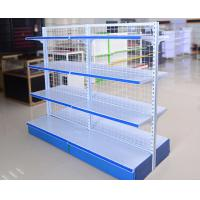 Buy cheap Chain Store Supermarket Display Shelving Wire Mesh Storage Shelves Light Duty product