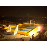 Buy cheap Simple Hot Welding Soap Inflatable Soccer Field Fireproof And Water Proof from wholesalers