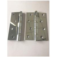 Buy cheap Chroume Plated Cp Heavy Duty Saloon Door Hinges , Commercial Door Hardware Oil Paingting from wholesalers