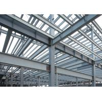 Buy cheap Commercial  Steel Frame Greenhouse galvanized  strong steel structure shade from wholesalers