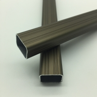 Buy cheap Chair Anodized Powder Coated Wood Grain Extruded Aluminium Profiles from wholesalers