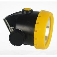 Buy cheap GYLED Rechargeable Mining Cap Lamps , Explosionproof Coal Miner Cap Lights from wholesalers