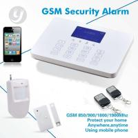 Buy cheap 868 MHz GSM Alarm System Touch Screen Visual Operation Image from wholesalers