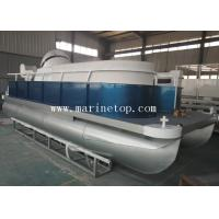 Buy cheap 5.9m X 2.25m Aluminum Pontoon Boat Durable For Harbor Mate Luxury Party from wholesalers