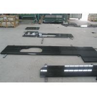 Acid Resistant Natural Stone Countertops Sino Black Granite Table Tops For Restaurants