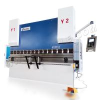 Buy cheap HARSLE 4+1 axis CNC 300T/3200mm Delem DA52s Control System Hydraulic Bending Machine from wholesalers