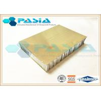 Buy cheap Outdoor Decoration Stainless Steel Honeycomb Panels 40mm - 200m Thickness from wholesalers