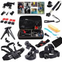 Buy cheap Chest Head Belt Strap Mount+Floating Handle+Monopod+Helmet Strap+Storage Case For GoPro Action Camera from wholesalers