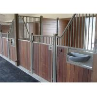 Buy cheap Full Weld Metal Prefab Horse Stables, Outdoor Pole Barn Horse Stall Door Kits from wholesalers