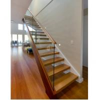 Buy cheap modern design steel wood stairs wood stair treads Staircase indoor staircase l shape stairs from wholesalers
