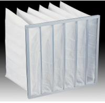 Buy cheap medium efficiency mini pleat fiberglass sub-hepa Filter from wholesalers