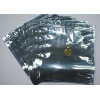 Buy cheap Resealable Anti Static Shielding Bags , Customized ESD Shielding Bag With Zip Lock from wholesalers