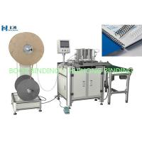 Buy cheap Spiral book binding machine DWC520 double wire forming and binding machine product
