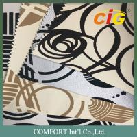 Buy cheap Home / Textile polyurethane synthetic leather Yarn dying custom colors product