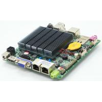 Buy cheap LVDS Nano ITX Industrial PC Motherboard Dual LAN Quad Core J1900 CPU from wholesalers