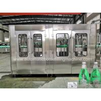 Buy cheap Auto Carbonated Soft Drink Filling Machine , Glass Bottle Machine High Speed from wholesalers