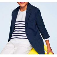 Buy cheap Children's clothing/boys striped collar T-shirt (long sleeve) from wholesalers