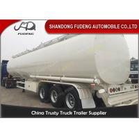 Buy cheap 60000 Liters fuel tank truck trailer for edible cooking oil delivery sale product
