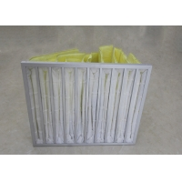 Buy cheap Low Resistance And High Ventilation F6 Pocket Air Filters from wholesalers