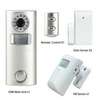 Buy cheap Remote Control PIR Sensor Home Security Alarm System with Camera from wholesalers
