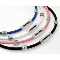 Buy cheap Health energy magnetic silicone necklace with ion infrared and germanium  from wholesalers