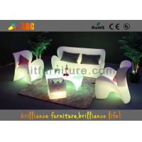Polyethylene Bar / Club LED Furniture Durable With Wireless Remote Control