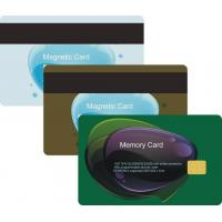 China Lo-co/Hi-co Magnetic Card/Magnetic Strip Card on sale