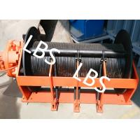 Buy cheap Portable Small Hydraulic Cable Winch With Hydraulic Motor 10KN - 400KN from wholesalers