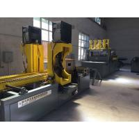 Buy cheap Fast Speed Transformer Automatic Corrugated Fins Wall Production Line Wear Resistant product