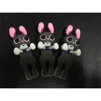 Buy cheap 2017 DIY Cute 3D Zootopia Judy Soft PVC Cell Phone Charms , Stick To Smart Phone Case, Best Phone Gift Decoration from wholesalers
